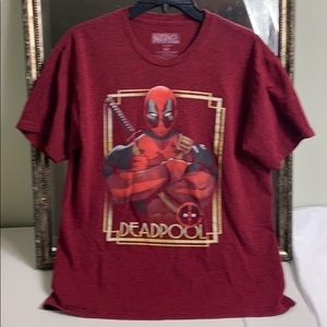 Marvel comics Deadpool graphic tee T-shirt size M